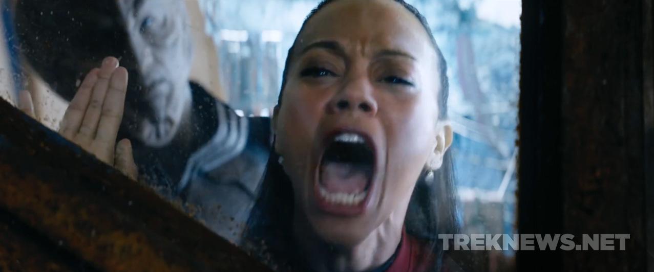 Uhura is not happy.