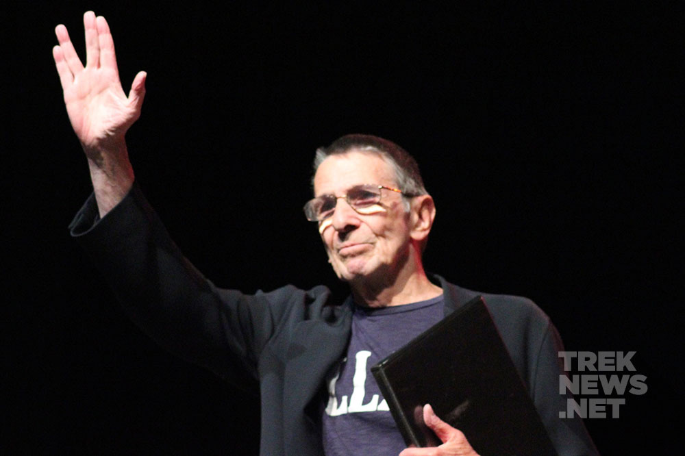 Nimoy at the 2011 Las Vegas Star Trek Convention