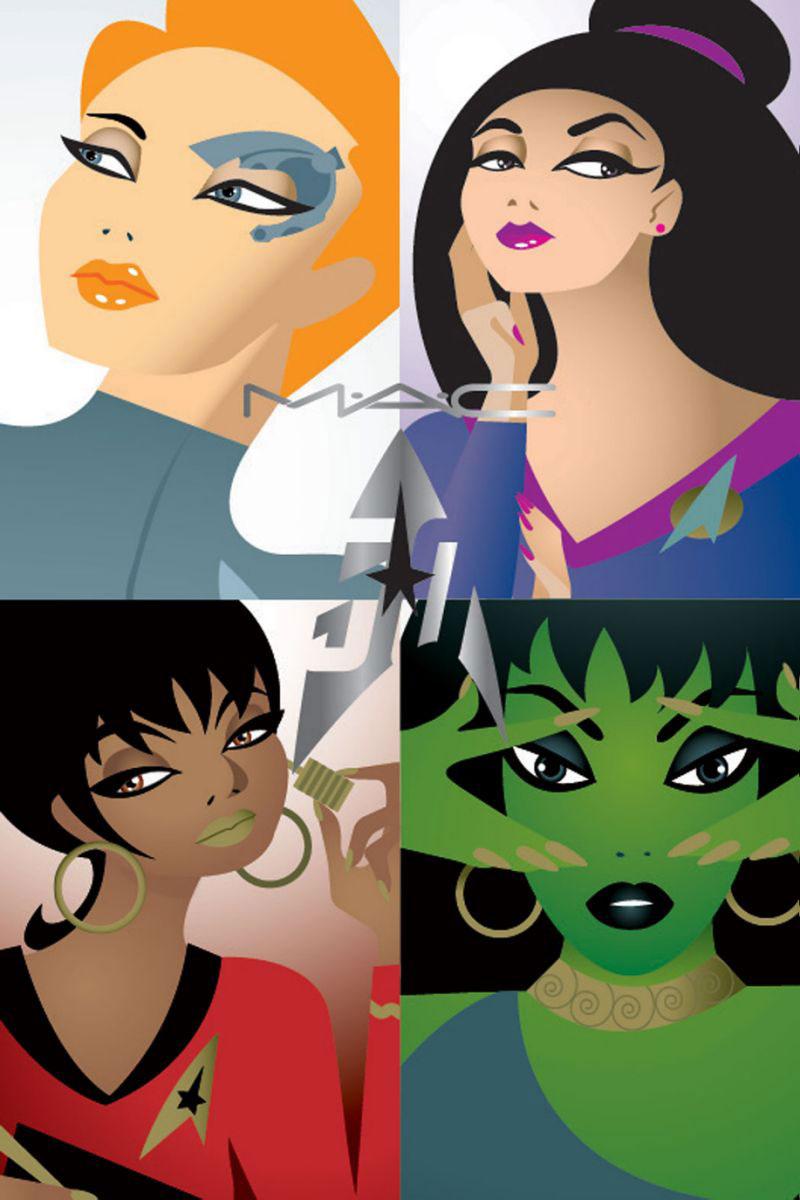 """MAC Cosmetics new """"Star Trek"""" line"""