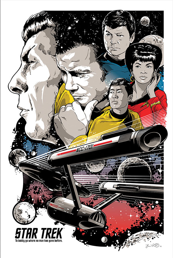"""To Boldly Go"" by Joshua Budich"
