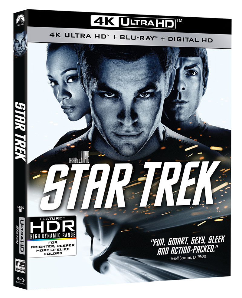 Star Trek (2009) 4K UHD Blu-ray
