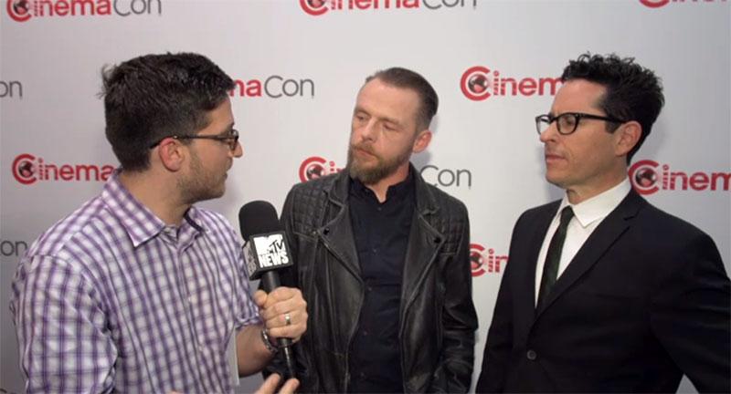 Simon Pegg and J.J. Abrams talk STAR TREK BEYOND