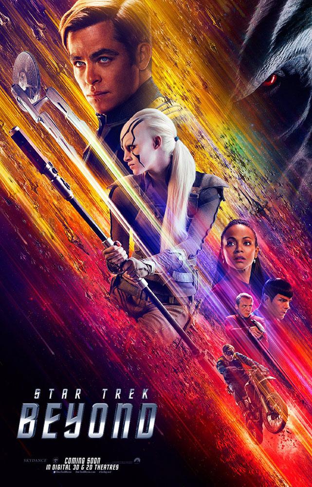STAR TREK BEYOND international poster
