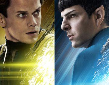 New STAR TREK BEYOND Posters Feature Spock, Chekov