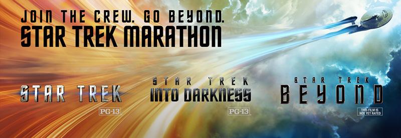 Star Trek movie marathon