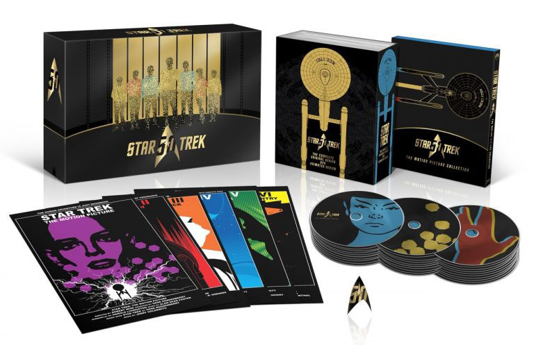 50th Anniversary STAR TREK TV and Movie Collection