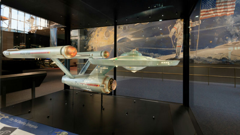 Enterprise model at the Smithsonian Air & Space Museum