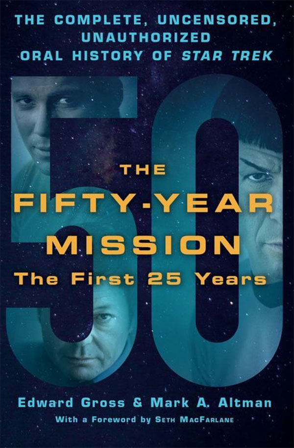 """""""The Fifty-Year Mission: The First 25 Years"""" cover art"""