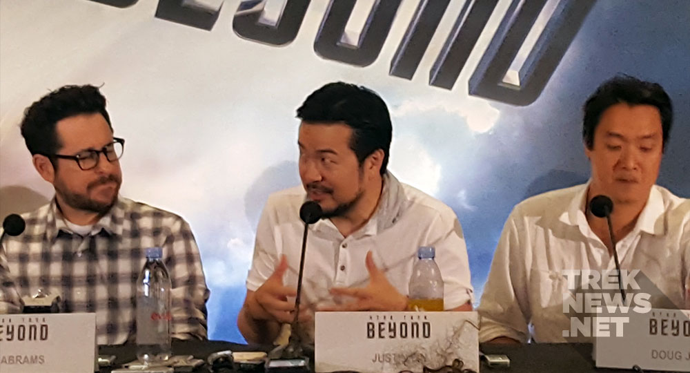 JJ Abrams, Justin Lin and Doug Jung