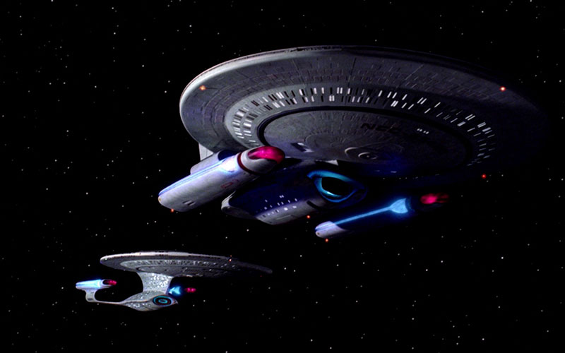 """Star Trek: The Next Generation """"The Wounded"""" (photo: CBS Home Entertainment)"""