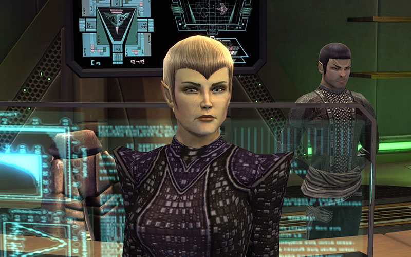 Crosby as Sela in Star Trek Online: Legacy of Romulus