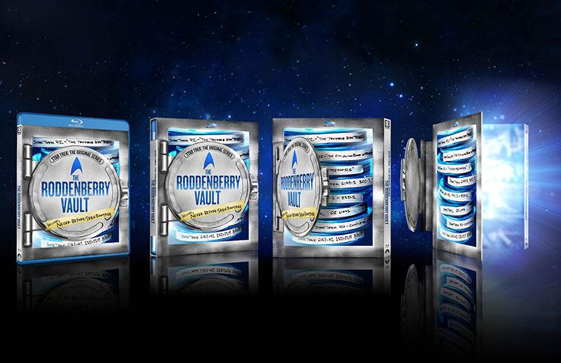 Roddenberry Vault Blu-ray packaging