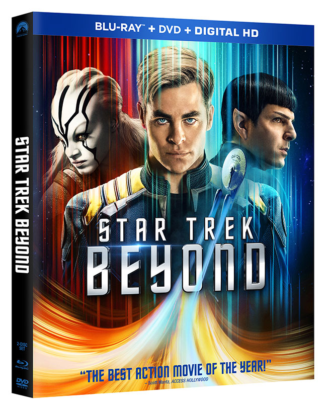 Star Trek Beyond Blu-ray cover art