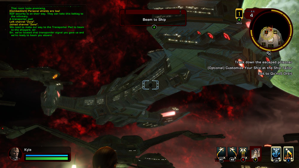 Klingon shipyard