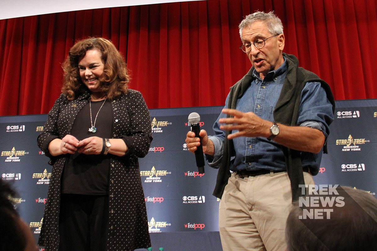 Star Trek: Discovery writers: Kirsten Beyer and Nicholas Meyer