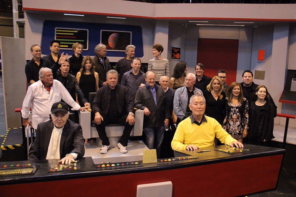 Shatner, Takei and Koenig together again!