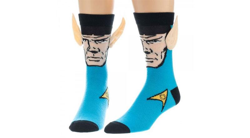 Star Trek Spock with Ears Crew Socks