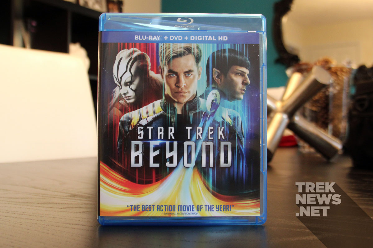 Star Trek Beyond Blu-ray combo pack