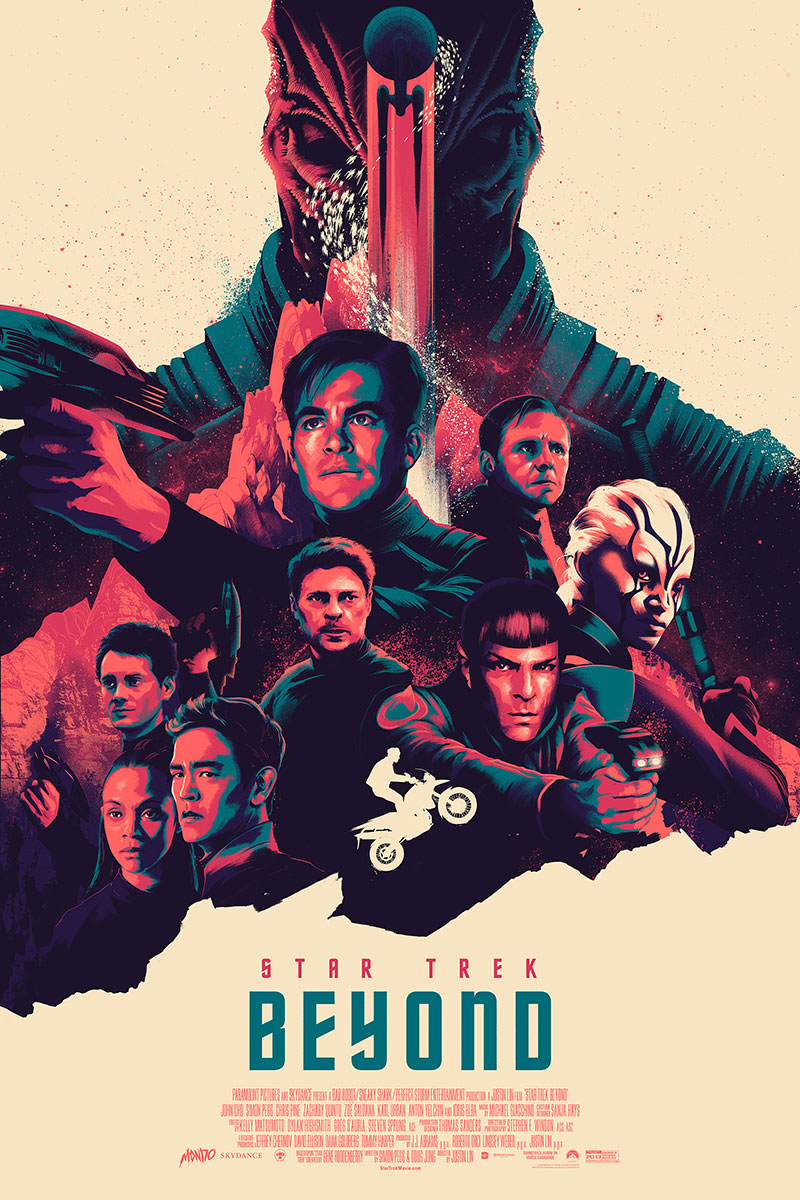 Star Trek Beyond poster by Matt Taylor