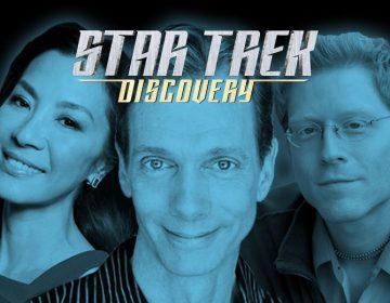 BREAKING: Three STAR TREK: DISCOVERY Cast Members Announced