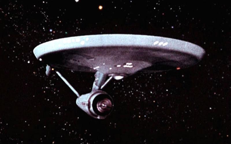 The original Starship Enterprise (photo: CBS Home Entertainment)
