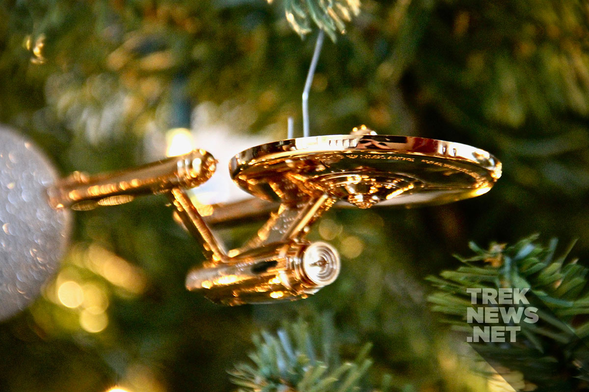 Hallmark's Star Trek USS Enterprise 50th Anniversary Ornament