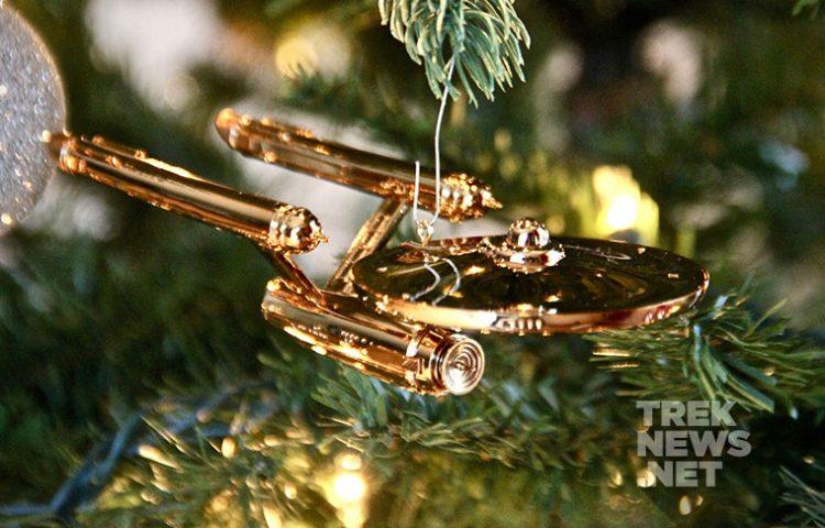 Star Trek Christmas Ornament 2019 REVIEW] Hallmark's Enterprise Christmas Ornament Celebrates 50