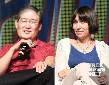 EXCLUSIVE: Mike and Denise Okuda Talk Roddenberry Vault, Star Trek Encyclopedia, Discovery
