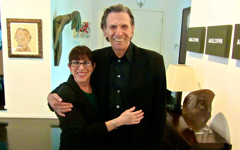 Julie and Leonard Nimoy