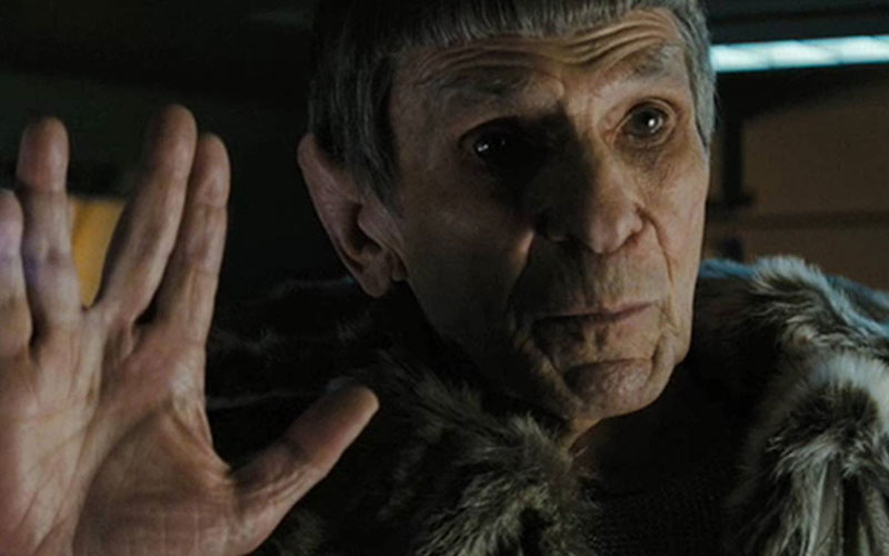 Nimoy as Spock Prime in Star Trek (2009)
