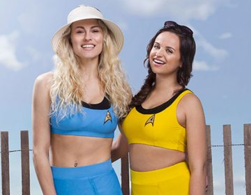 Hit The Beach This Summer In A Retro Star Trek TOS Bikini