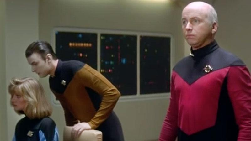 John Ritter as Captain Picard