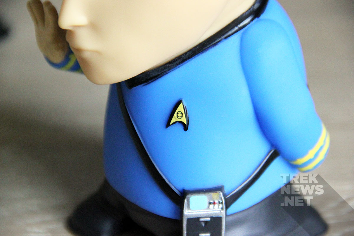 Detail of the Spock Bluetooth speaker
