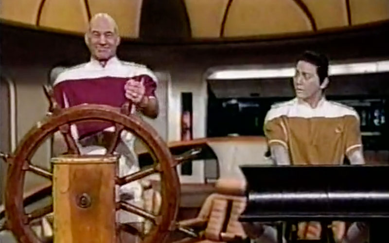 Saturday Night Live's Star Trek: The Next Generation/Love Boat skit from 1994