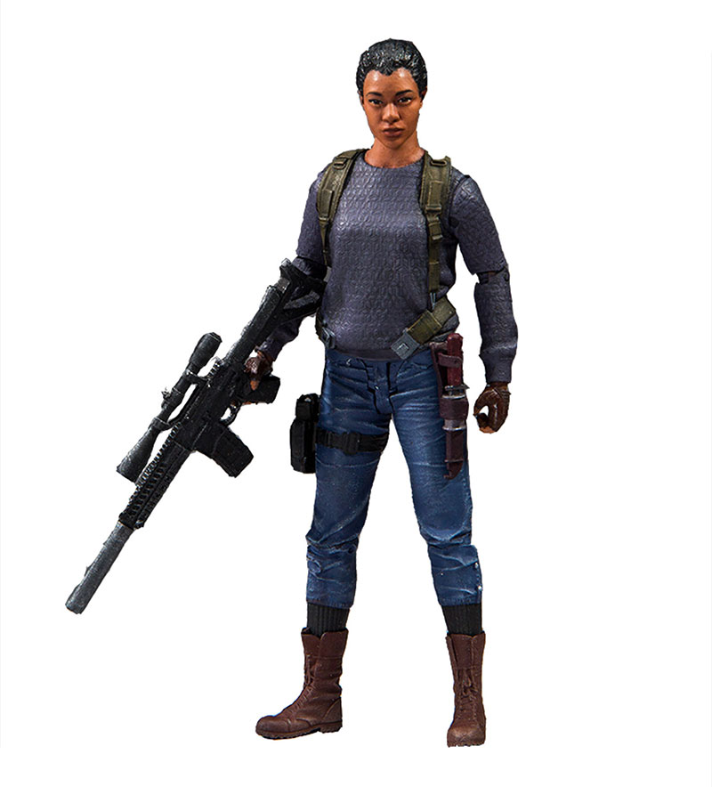 Martin-Green's 'Walking Dead' figure, also produced by McFarlane