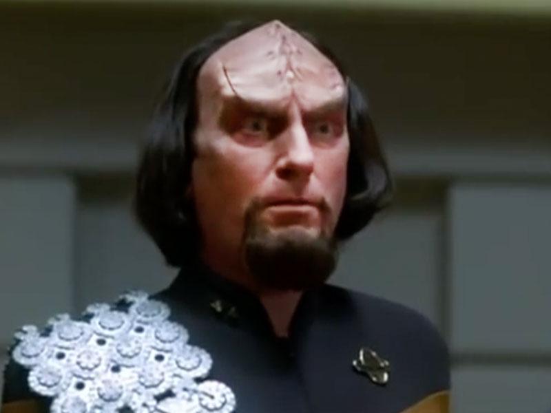 Worf from John Ritter's TNG parody