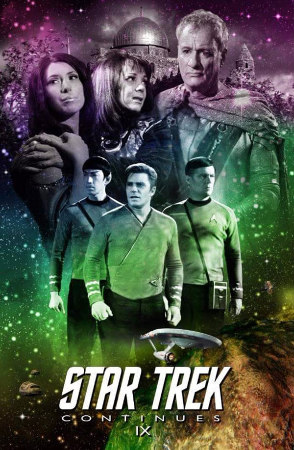 Poster art for the ninth episode of Star Trek Continues