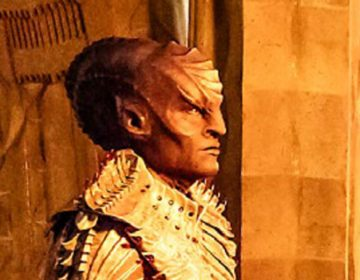 First Photo of Mary Chieffo as Klingon Commander L'Rell