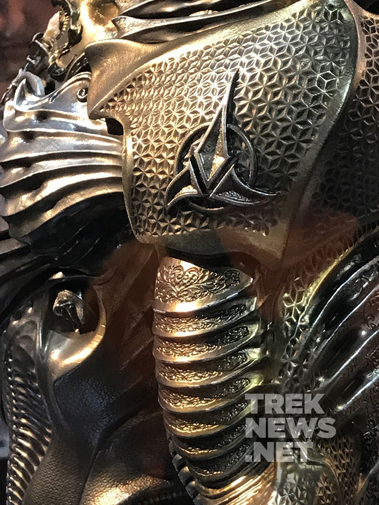 Star Trek: Discovery Klingon 'Torchbearer' Suit on display at SDCC