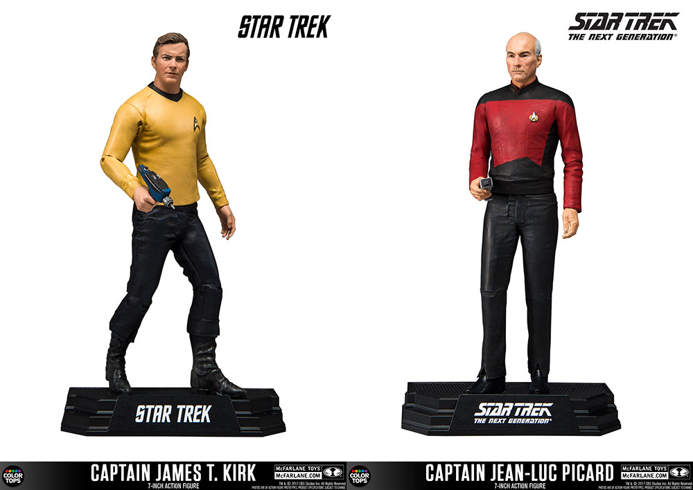Star Trek figures from McFarlane Toys