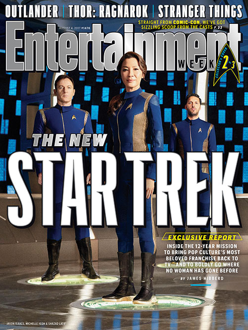 Star Trek: Discovery Entertainment Weekly cover 2
