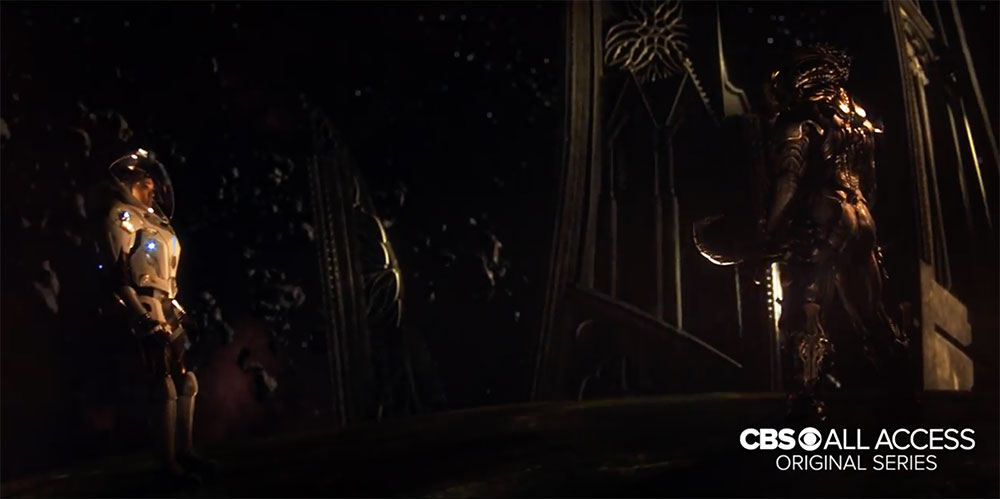 The 'Torchbearer' in Discovery's first trailer