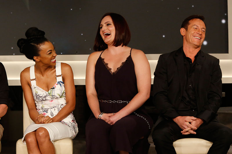 Sonequa Martin-Green, Mary Chieffo, Jason Isaacs at TCA 2017