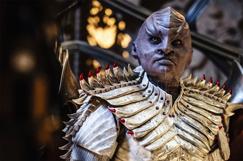 Michelle Chieffo as L'Rell in Star Trek: Discovery