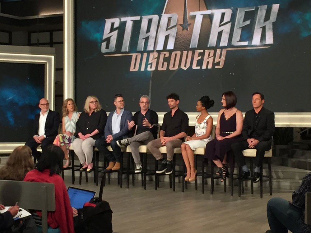 Star Trek: Discovery cast and crew during TCA 2017