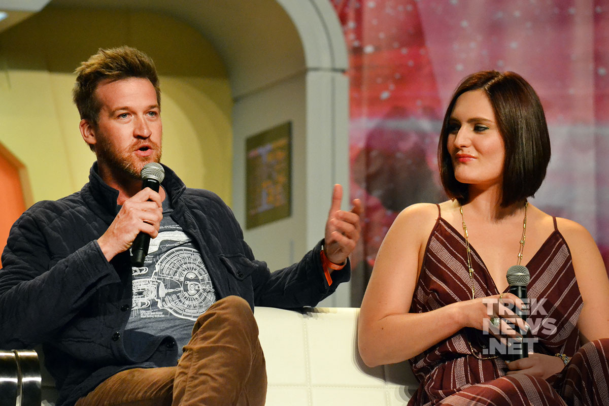 Kenneth Mitchell and Mary Chieffo discuss Klingons on Star Trek: Discovery
