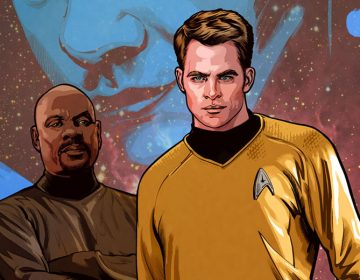 EXCLUSIVE: IDW 'Star Trek' Artist Tony Shasteen On Blending the Kelvin & Prime Timelines In Comics