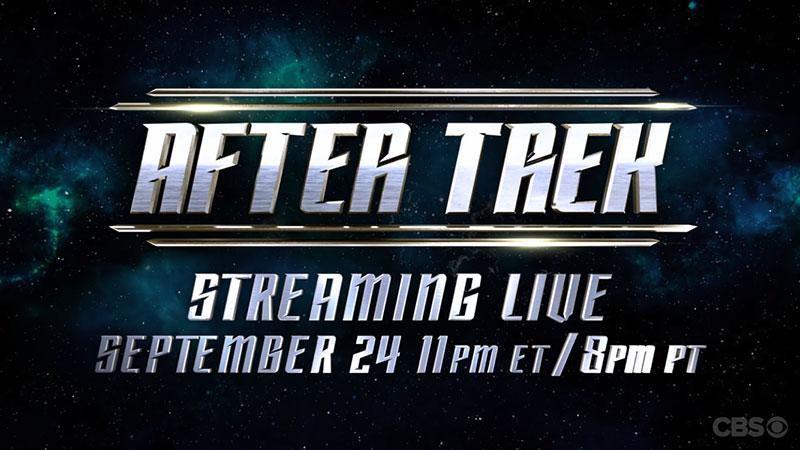 "The logo for the Star Trek: Discovery post-show ""After Trek"""