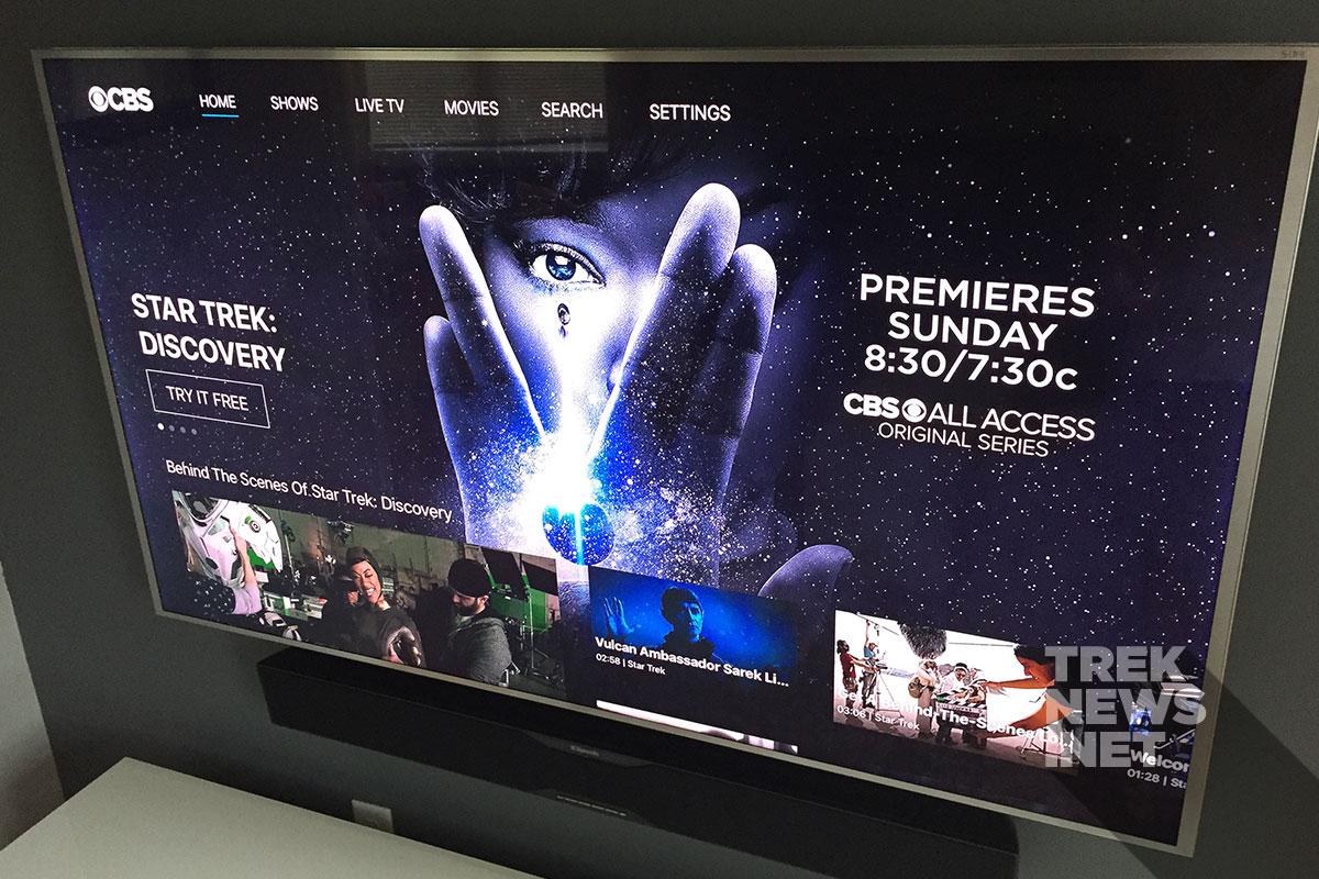 CBS All Access on AppleTV