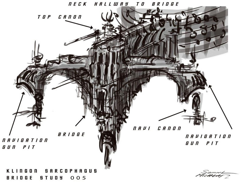 Klingon Sarcophagus